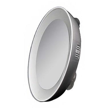 Zadro™ Next Generation™ 15x Magnification LED Lighted Spot Mirror, Black