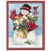 LANG® Assorted Boxed Christmas Cards Set With Envelopes, Candy Cane Snowman & Santa