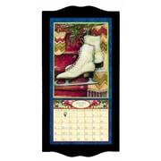 "LANG® 8 3/4"" x 17 3/4"" Vertical Wall Calendar Frame, Small, Black Diamond"