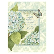 LANG® Blue Hydrangea Address Book