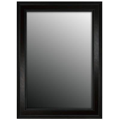Second Look Mirrors Cappuccino Copper Bronze Wall Mirror; 42''H x 30''W x 0.5''D
