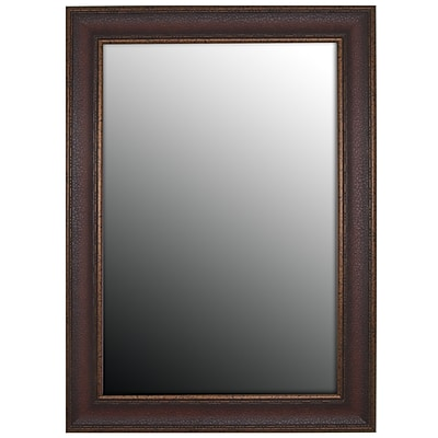 Second Look Mirrors Copper Embossed Bronze Wall