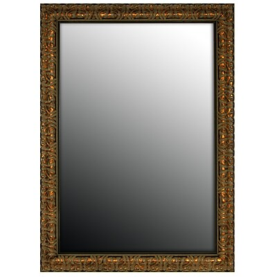 Second Look Mirrors Second Look Olde World Aged Wall Mirror; 35''H x 17''W x 1.5''D