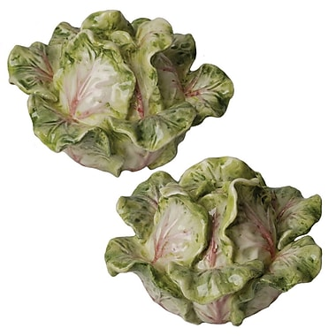 Kaldun & Bogle French Garden Cabbage Salt and Pepper Set