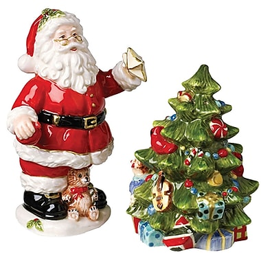 Kaldun & Bogle Christmas Gifts Santa, Tree Salt and Pepper Set
