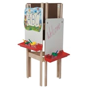Wood Designs Adjustable Board Easel; Marker Board