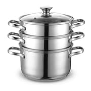 Cook N Home 4 Piece Stainless Steel Multi Pot Set