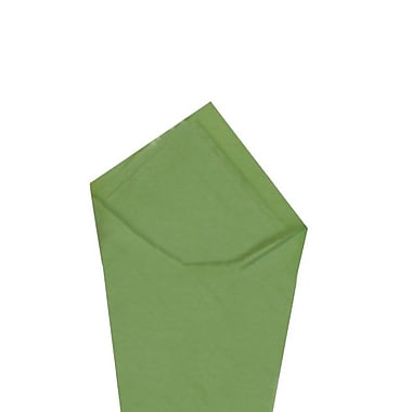 Staples Shamrock SatinWrap Tissue Quire, Green Tea