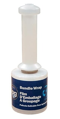 Intertape® StretchFlex Expresswrap 80 Gauge Bundle Wrap Stretch Film, 3