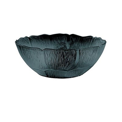 Carlisle 5-6/5 qt Petal Mist Bowl, Black