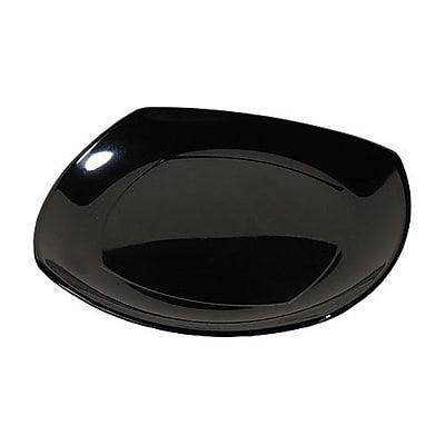 Carlisle 10'' Square Plates - Square Dinnerware Collection, Black