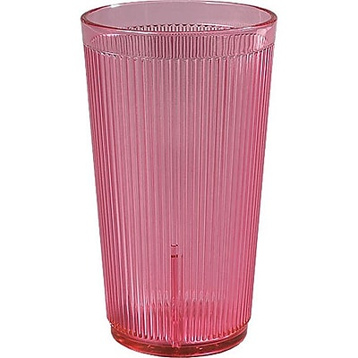 Carlisle 20 oz Crystalon® Stack-All® SAN Tumbler, Rose