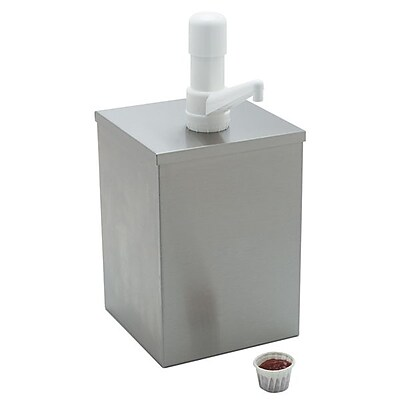 Carlisle 38601, High Volume Condiment Pump with Fixed Nozzle Pump