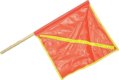 Mutual Industries Reflective Highway Safety Flag, 18