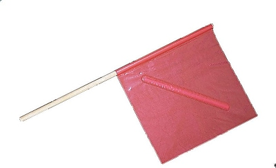 Mutual Industries No-Foul Highway Safety Flag, 18
