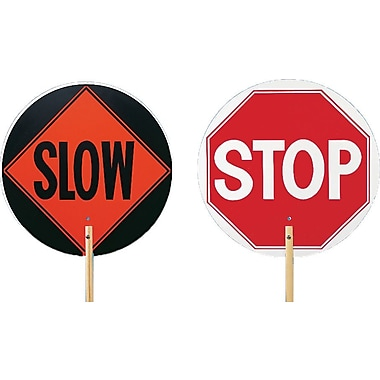 Mutual Industries Stop/Slow Paddle With 10