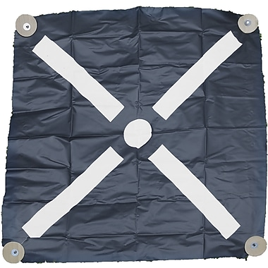 Mutual Industries Harlequin Bullseye Iron Cross Aerial Target, 36