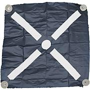 "Mutual Industries Harlequin Bullseye Iron Cross Aerial Target, 48"" x 48"", 12/Pack"