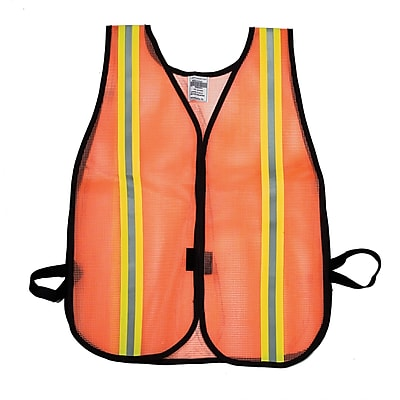 Mutual Industries MiViz Heavy Weight Safety Vest With 1 1/2