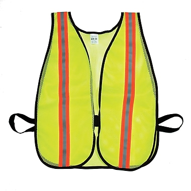 Mutual Industries MiViz Soft Mesh Safety Vest With 1 1/2