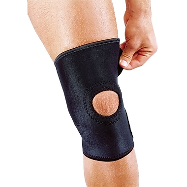 Mutual Industries Adjustable Neoprene Open Patella knee Support, One Size