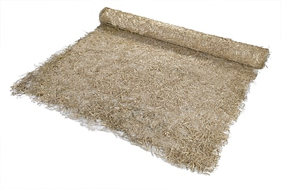 Mutual Industries Straw/Coconut Blanket, 8' x 112 1/2'