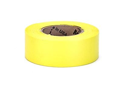 Mutual Industries Ultra Glo Flagging Tape, 4