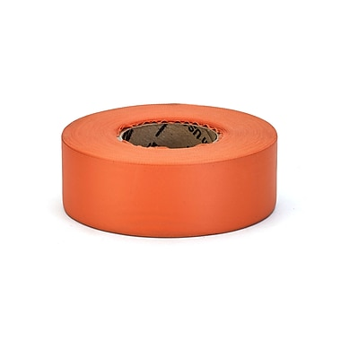 Mutual Industries Ultra Standard Flagging Tape, 1 3/16