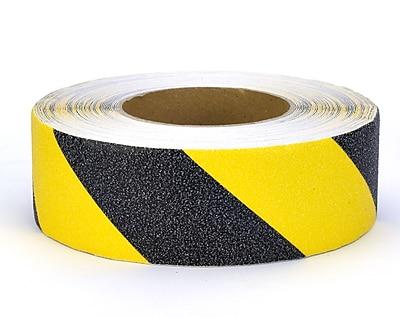 Mutual Industries Non-Skid Hazard Stripe Abrasive Tape, 2