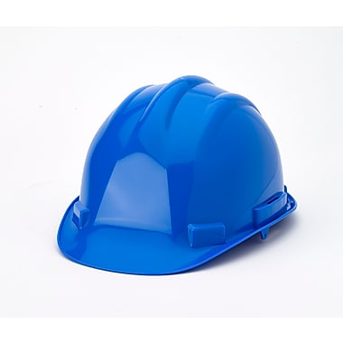 Mutual Industries 6-Point Ratchet Suspension Hard Hat, Blue