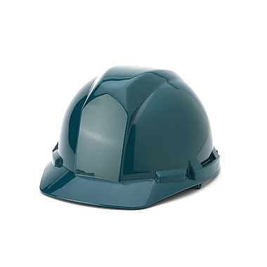 Mutual Industries 4-Point Pin Lock Suspension Hard Hat, Green