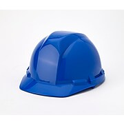 Mutual Industries 4-Point Ratchet Suspension Hard Hat; Blue