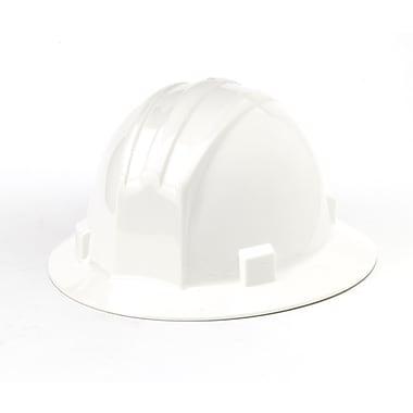 Mutual Industries Full Brim Hard Hat, White
