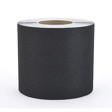 Mutual Industries Non-Skid Abrasive Safety Tape, Black