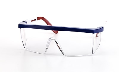 Mutual Industries Marlin Safety Glasses With USA Frame, Clear