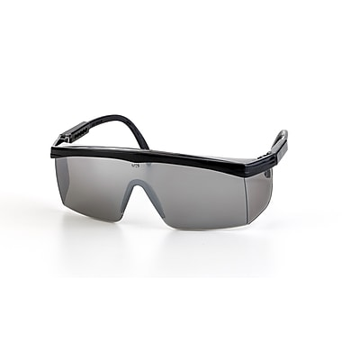 Mutual Industries Marlin Safety Glasses With Black Frame, Mirror