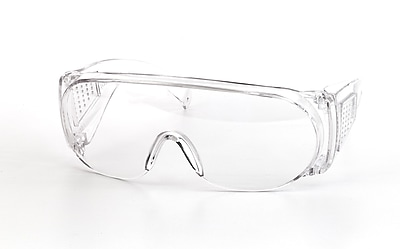 Mutual Industries Wrap Around Safety Glasses, Clear