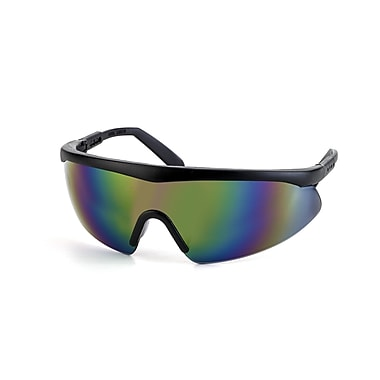 Mutual Industries Shark Safety Glasses With Black Frame, Mirror