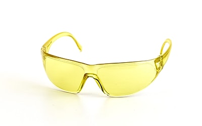 Mutual Industries Snapper Safety Glasses, Amber