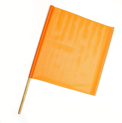 Mutual Industries Heavy-Duty Mesh Safety Flag, 24