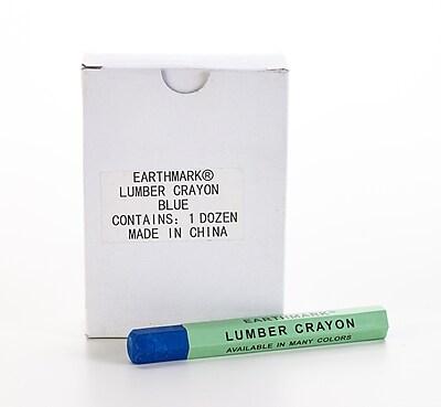 Mutual Industries Lumber Crayons, Blue