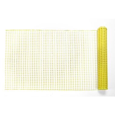 Mutual Industries Diamond Link Fence, 4' x 50', Yellow