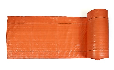 Mutual Industries Polyethylene Silt Fence Fabric, Orange, 36