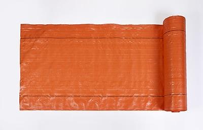 Mutual Industries Polyethylene Silt Fence Fabric, Orange, 36