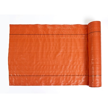 Mutual Industries Polyethylene Silt Fence Fabric, Orange, 48