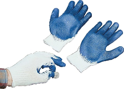 Mutual Industries Latex Coated Palm Sure Grip Gloves, XL