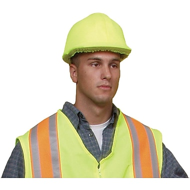 Mutual Industries ANSI Hard Hat Cover, Lime
