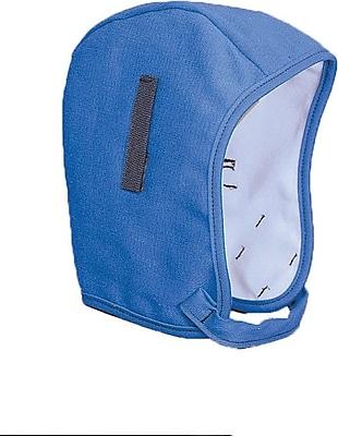 Mutual Industries Kromer #42 Zipperhead Regular Nape Flame Retardant Twill Cap, Postman Blue