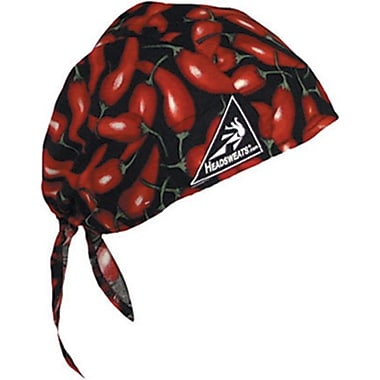 Mutual Industries Kromer Cotton Coolhead Wrap, Chili Peppers