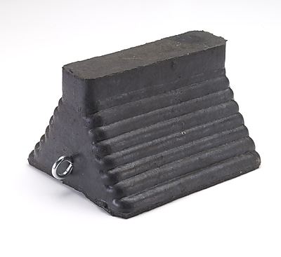 Mutual Industries Molded Wheel Chock, 6